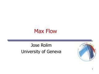 Max Flow