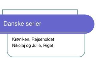 Danske serier
