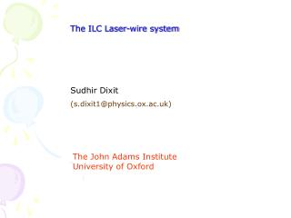 The ILC Laser-wire system