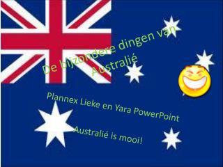 De bijzondere dingen  van  Australié