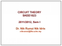 CIRCUIT THEORY SKEE1023  2011