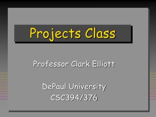 Projects Class