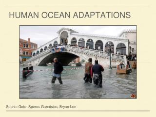 HUMAN OCEAN ADAPTATIONS