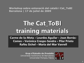 Carme de-la-Mota • Lourdes Aguilar • Joan Borràs-Comes • Verònica Crespo-Sendra • Pilar Prieto