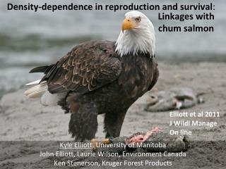 Density-dependence in reproduction and survival :