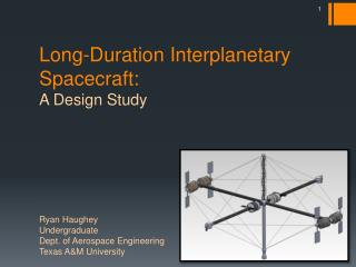 Long-Duration Interplanetary Spacecraft:   A Design Study