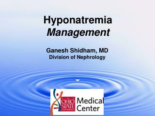 Hyponatremia Management