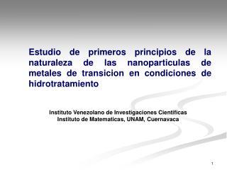 Instituto Venezolano  de  Investigaciones Cientificas