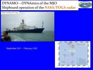 DYNAMO—DYNAmics of the MJO Shipboard operation of the  NASA/TOGA radar