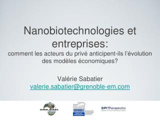 Valérie Sabatier  valerie.sabatier@grenoble-em