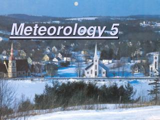 Meteorology 5