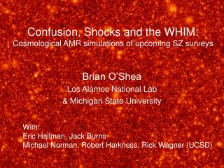 Confusion, Shocks and the WHIM: Cosmological AMR simulations of upcoming SZ surveys