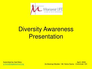 Diversity Awareness Presentation