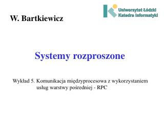 Systemy rozproszone