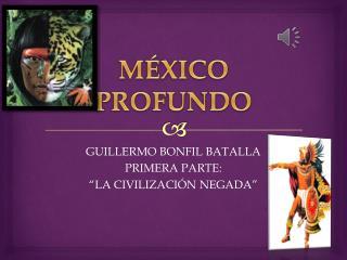MÉXICO PROFUNDO