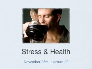 Stress & Health