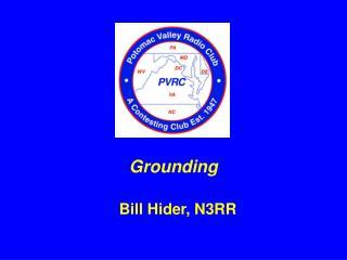 Bill Hider, N3RR