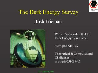 The Dark Energy Survey