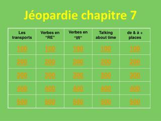J�opardie chapitre 7