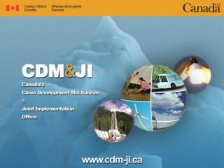 Opportunities for CDM/JI Projects