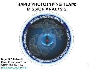 RAPID PROTOTYPING TEAM: MISSION ANALYSIS