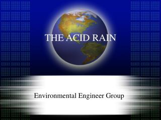 THE ACID RAIN