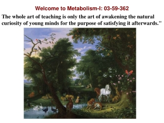 Welcome to Metabolism-I: 03-59-362