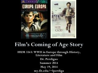 Film's Coming of Age Story