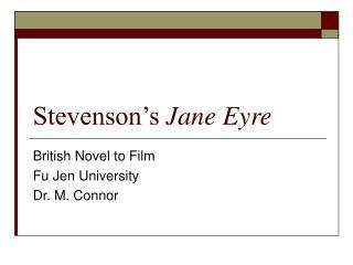 Stevenson's  Jane Eyre