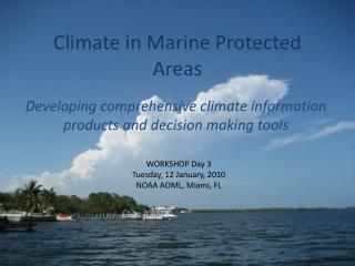 Climate in Marine Protected Areas