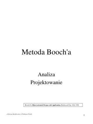 Metoda Booch'a