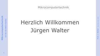 Mikrocomputertechnik