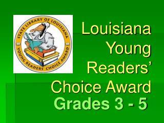 Louisiana Young Readers' Choice Award