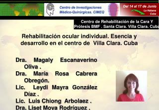 Dr Moya de Armas