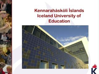 Kennaraháskóli Íslands  Iceland University of Education