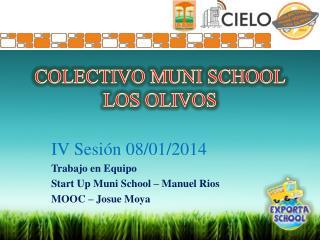 COLECTIVO MUNI SCHOOL LOS OLIVOS