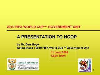 11 June 2008  Cape Town