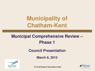 Municipality of Chatham-Kent