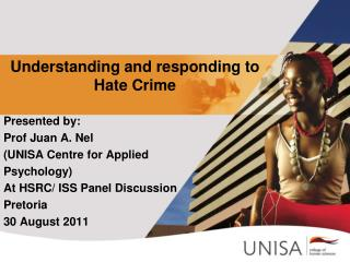 Understanding and responding to Hate Crime