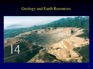 Geology and Earth Resources