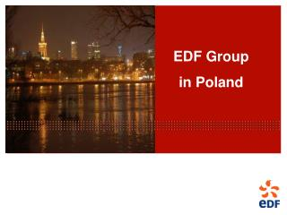 EDF Group  in Poland