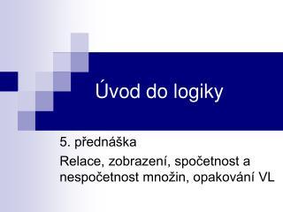 Úvod do logiky