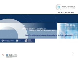 GIASE – Gabinete de Informação e Avaliação do Sistema Educativo
