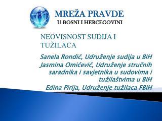 Sanela Rondić, Udruženje sudija u BiH