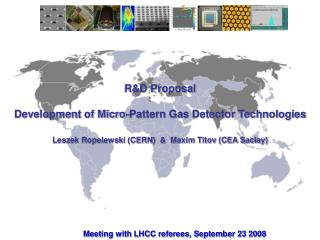 R&D Proposal Development of Micro-Pattern Gas Detector Technologies