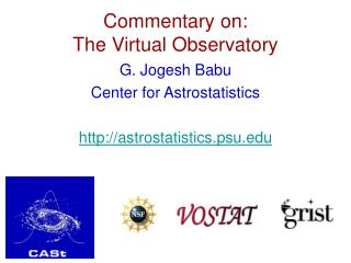 Commentary on:  The Virtual Observatory
