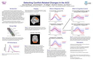 Detecting Conflict-Related Changes in the ACC