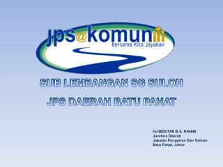 SUB LEMBANGAN SG SULOH