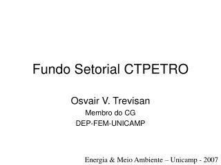 Fundo Setorial CTPETRO