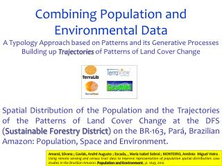 Combining Population and Environmental Data